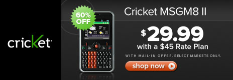cricket msgm8 ii driver download